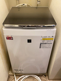 シャープのタテ型洗濯機「ES-PW8E」